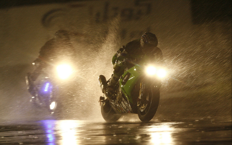 Riding Through Rain