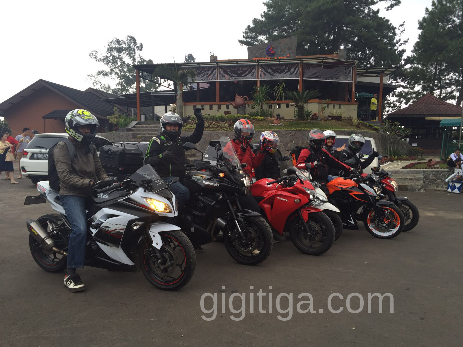 Saturday Morning Ride Ke Bumi Nini Puncak