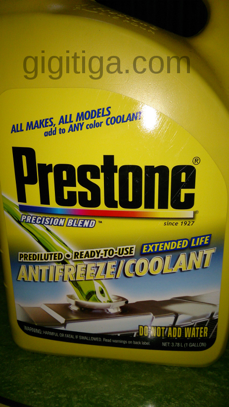 Review: Coolant Prestone