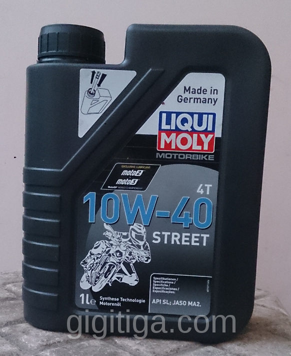 Review: Liquimoly Street 10w40