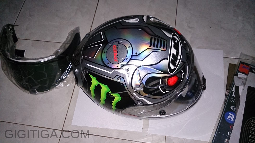 Review Singkat: Helm HJC RPHA 10 Pro Speed Machine