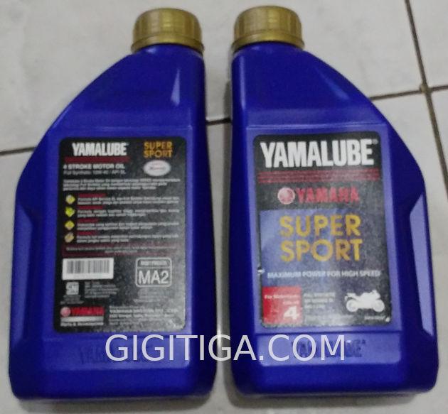 Kemasan Baru Oli Yamalube Super Sport 10w40. Anti Palsu !