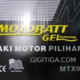 Tipe Aki Motobatt Untuk Suzuki Thunder 125